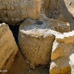 Jericho,-Tell-es-Sultan-Neolithic-tower-from-east,-tb091504848-lugaresbiblicos